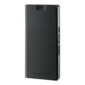 Roxfit Standing Book Case for Sony Xperia 10 (Black)