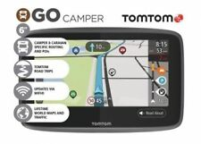 "TomTom Go Camper Caravan  6"" GPS Sat Nav Lifetime World Maps & Traffic RRP £369"