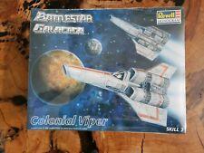 Revell Monogram Battlestar Galactica Colonial Viper Rocket Model Kit Nib 85-3617
