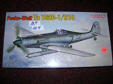 "Dragon # 5573 ""Focke-Wulf Ta 152C-1/R14 German"" 1/48  list $ 38.89 lot # 11428"