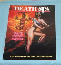 DEATH SPA & HENRY PORTRAIT OF A SERIAL KILLER video store ADVERTISING BROCHURE