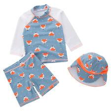Kids Boys Swimsuit UV 50+ Sun safe Bathing Surf Swimming Costume 3pcs