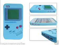 Blue Nintendo Game Boy Gameboy iphone SE 5S 5G 5 Silicone Full Back Case NEW
