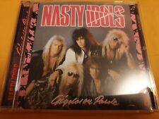Nasty Idols - Gigolos on parole cd 2 bonus tracks INDIE SLEAZE GLAM HAIR METAL