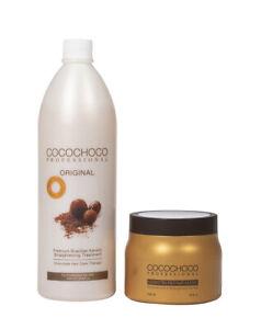 COCO CHOCO Complex Brazilian Keratin hair Treatment 1000ml + Repair mask 500ml