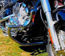 STAINLESS STEEL CUSTOM CRASH BAR ENGINE GUARD + PEGS YAMAHA XVZ 1300 ROYALSTAR