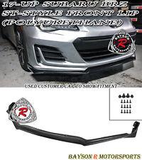 ST-Style Front Lip (Urethane) Fits 17-18 Subaru BRZ