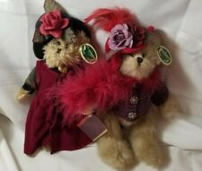 Bearington Bears NWT Duchess of Plume and Sarah Collectible Retired