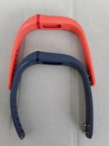 Genuine Fitbit Flex Wireless Activity + Sleep Wristbands Tangerine & Grey - S/P