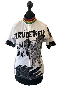 PARIA X BRUDENELL Zip Front Graphic Cycle Shirt Size M NEW With tags  - Z05