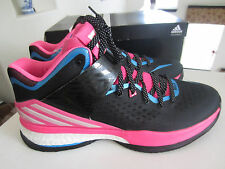 ADIDAS RG3 ENERGY BOOST SNEAKER black pink blue white size mens 13 $140