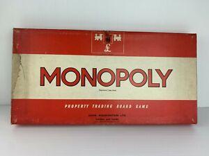 Monopoly 1974 Vintage Board Game Real Estate Trading Game Strategy Waddington