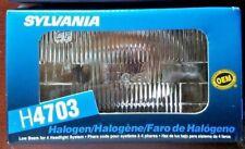 Headlight Bulb Boxed SYLVANIA H4703 12V 55W Halogen Low Beam 4 headlight system