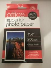 Office Superior Photo Paper Gloss 200gsm 6x4 (60 sheets)