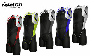 Zimco Elite Men Triathlon Suit Racing Tri Suit Triathlon Short Tri Swim Run 7050