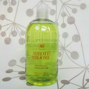 Abbott & Broome Lime & Patchouli Luxurious Bath Foam 500ml 16 fl.oz Bottle