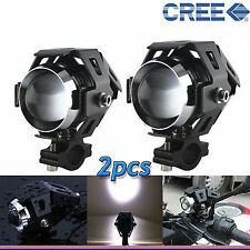U5 CREE LED Lamp 15W Projector Lens Auxiliary Fog Light For Yamaha YZF R15