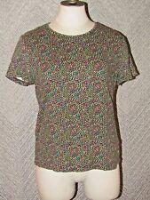 Croft & Barrow Spring Time Easter Egg Polka Dot Comfy T-Shirt Size Medium Top