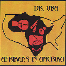 NEW Dr.Oba - Afrikans in Amerika (Audio CD)