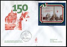 Vaticano - 2011 - 150° Unità d'Italia - Busta FDC Venezia n.158