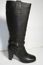 BANDOLINO BDAISEL WOMENS DARK BROWN LEATHER BOOTS SIZE 9.5M NEW IN BOX