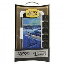 OtterBox Armor Case for Apple iPhone 5 - Artist Carey Chen, Blue Marlin.