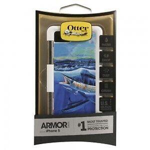 OtterBox Armor Case for Apple iPhone 5 - Artist Carey Chen, Blue Marlin.