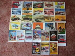 30 Unused MAYFAIR OF LONDON - TRANSPORT Postcards.