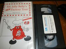 VHS Mr. Jelly Belly's New Factory Tour Herman Goelitz Candy Company
