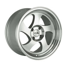 16x8 Whistler Rims KR1 4x100 SILVER MACHINED FACE Wheels (Set of 4)