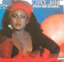 Vinyl-Single Carol Jiani - Touch and go lover/Love now play later (1984)