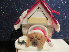 Puggle ~ Doghouse Ornament ~ #122