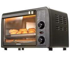 Konka Mini Toaster Oven, 2-Slice,Stainless Steel