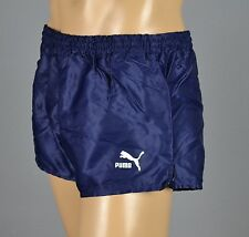 PUMA Glanz Nylon Shorts Sporthose Short Dunkelblau Gr.:M-5          (1266)