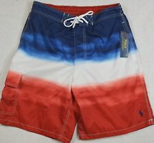 Polo Ralph Lauren Swim Board Shorts Trunks Ombre Kailua L Large NWT