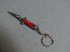 Switchblade Cigarette Roach Clip Holder - Red color