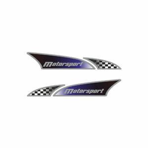 Adesivo Logosport per Auto Motosport Dx + Sx