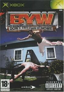 Don't Try This at Home - BYW - Backyard Wrestling - XBOX - NEUF