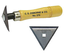 C.S.Osborne No. 270 Wood Scraper/ Boat Scraper With Replaceable Triangular Blade
