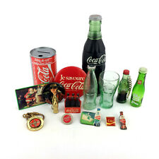 Coca-cola Collectibles Lot Small Job Rare Vintage Miniature Bottles Glasses Pins