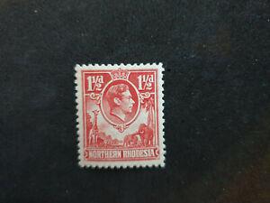 1938 Northern Rhodesia Sg 29 1½d carmine-red Mounted Mint Very Fresh  (CS4)