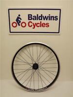 "27.5"" (650B) REAR DISC BRAKE Mountain Bike Wheel D/ WALL - BLACK 8/9/10 Speed"