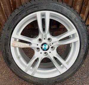 "BMW 18"" ALLOY WHEEL & TYRE M SPORT - 3 SERIES F30 4 SERIES F32 (AT96)"