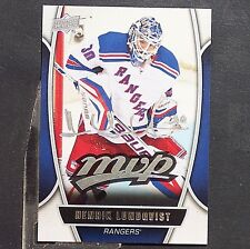 HENRIK LUNDQVIST  2013/14  UD  MVP  #29  New York Rangers