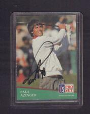 Paul Azinger PGA 1991 Pro Set Autographed Signed jhxb12