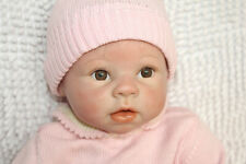 "22"" Silicone Reborn Baby Dolls Newborn Toddler Realistic Lifelike Handmade Girl"