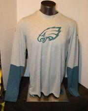 Nike Mens Philadelphia Eagles Long Sleeve Nike Breathe Shirt Large