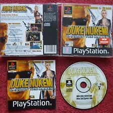 DUKE NUKEM LAND OF THE BABES ORIGINAL BLACK LABEL SONY PLAYSTATION PS1 PS2 PAL