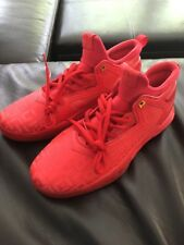 Adidas Dame Lillard 2 DAME TIME AH1581 Unreleased P.E. Triple Red Size 12.5 Rare