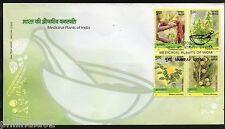 India 2003 Medicinal Plants of India Phila-1964a FDC+Blank Folder